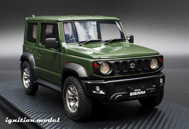 <予約> [Ignition model] 1/18 SUZUKI Jimny SIERRA JC (JB74W) Jungle Green
