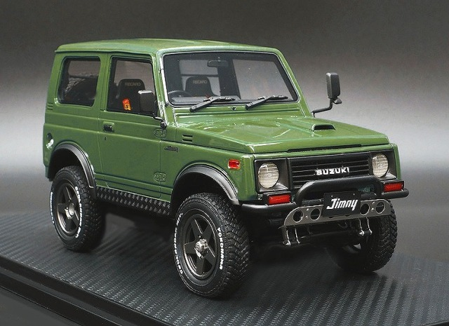 <予約> Ignition model 1/18 SUZUKI Jimny (JA11) Green