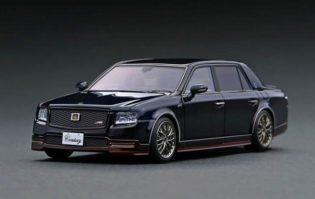 Ignition 1/43 Toyota Century (UWG60) GRMN Black