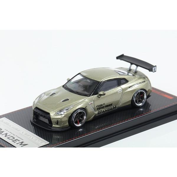 【イグニッションモデル】1/64 PANDEM R35 GT-R Green Metallic