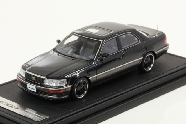 Ignition 1/43 Toyota CELSIOR (F10) Black ZA-Wheel