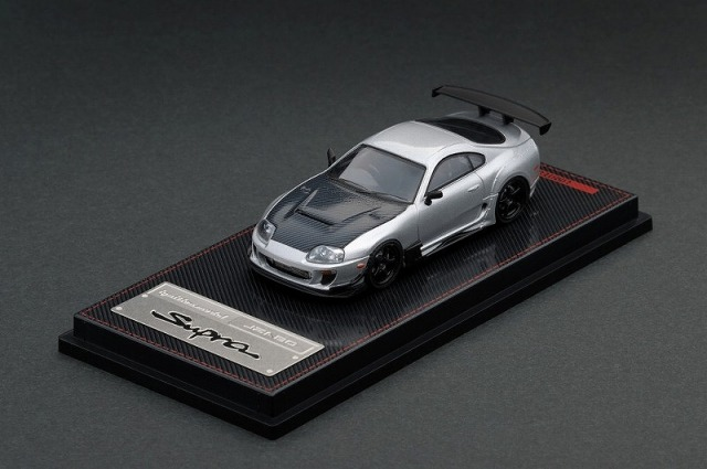 <セール> ignition 1/64 Toyota Supra (JZA80) RZ Silver