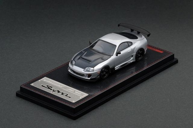 Ignition model 1/64 Toyota Supra (JZA80) RZ Silver