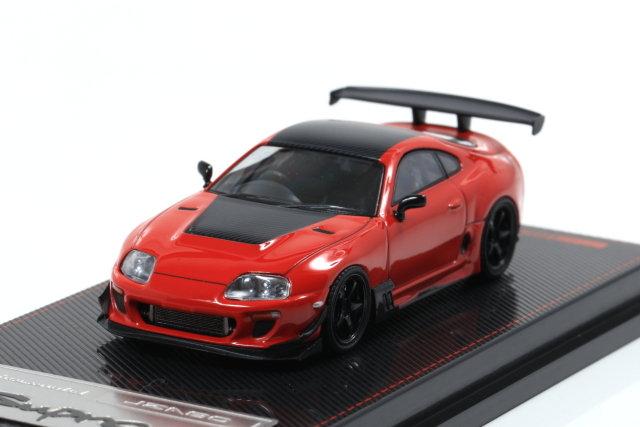 ignition 1/64 Toyota Supra (JZA80) RZ Red