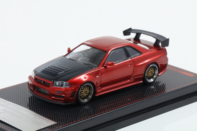 Ignition 1/64 Nismo R34 GT-R Z-tune Red Metallic 宮沢模型流通限定