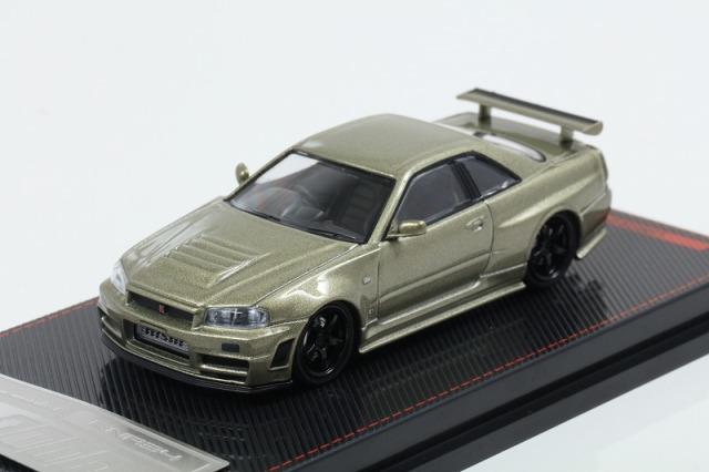 <セール> ignition 1/64 Nismo R34 GT-R Z-tune Green Metallic