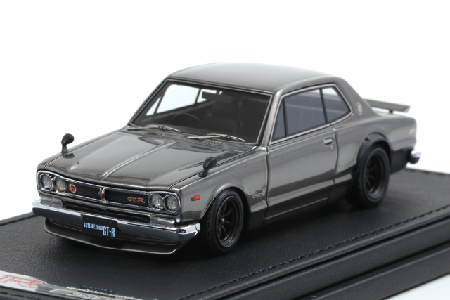 ignition 1/43 Nissan Skyline 2000 GT-R (KPGC10) Silver