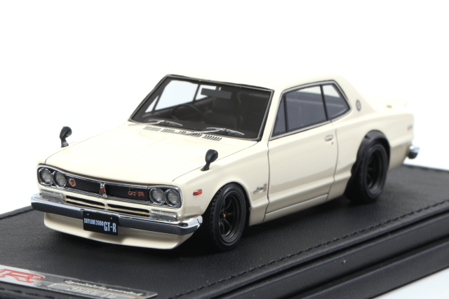 ignition 1/43 Nissan Skyline 2000 GT-R (KPGC10) White