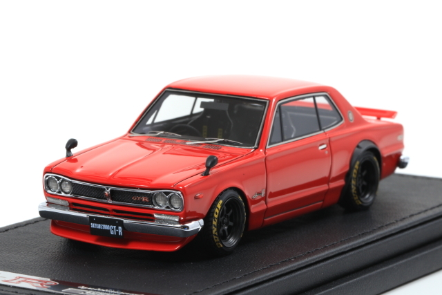 ignition 1/43 Nissan Skyline 2000 GT-R (KPGC10) Red