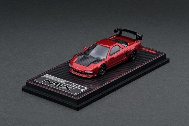 Ignition model 1/64 Honda NSX (NA1) Red Metallic