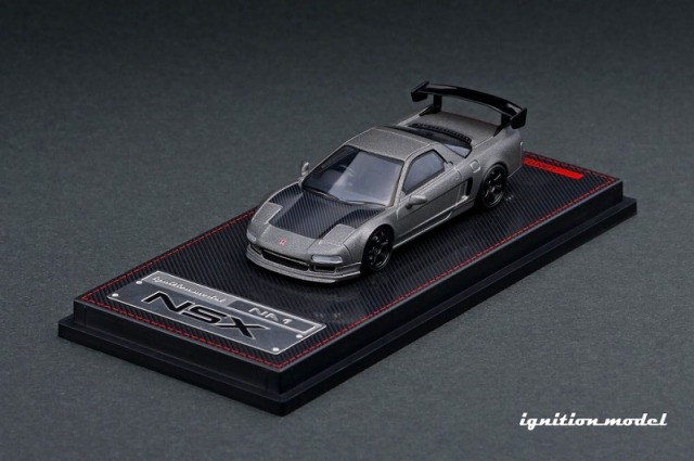 Ignition model 1/64 Honda NSX (NA1) Titanium Gray