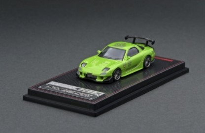 Ignition model 1/64 Mazda RX-7 (FD3S) RE Amemiya Green Metallic
