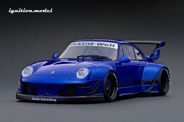 <予約> [Ignition model] 1/18 RWB 993 Blue Metallic