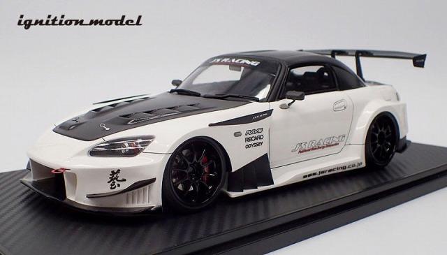 <予約> Ignition model 1/18 J'S RACING S2000 (AP1) Pearl White