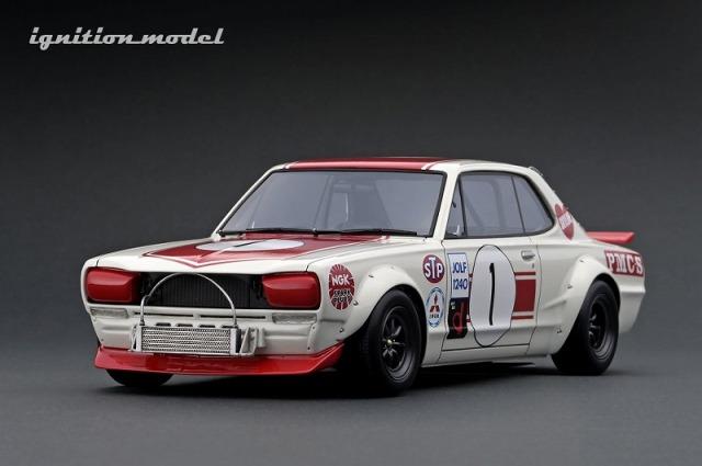 <予約> Ignition model 1/18 Nissan Skyline 2000 GT-R (KPGC10) (#1) 1971 Fuji Masters 250km