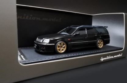 Ignition model 1/43 Nissan STAGEA 260RS (WGNC34) Black
