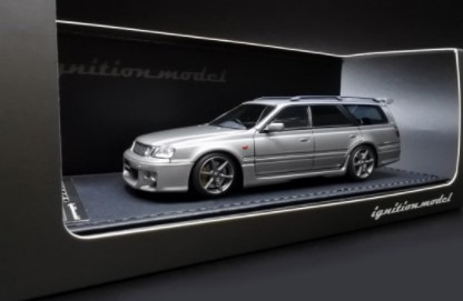 Ignition model 1/43 Nissan STAGEA 260RS (WGNC34) Silver