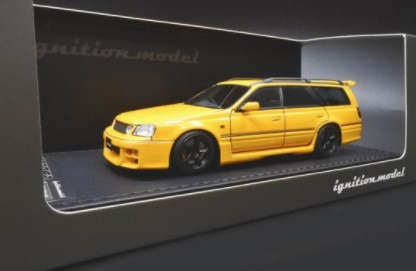 Ignition model 1/43 Nissan STAGEA 260RS (WGNC34) Yellow
