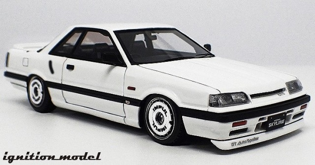 Ignition model 1/43 Nissan Skyline GTS (R31)  White