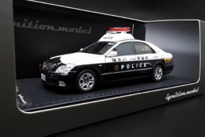 Ignition model 1/43 Toyota Crown (GRS180) 神奈川県警 自動車警ら隊001号