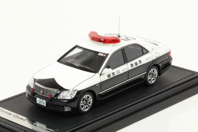 Ignition 1/43 Toyota Crown (GRS180) 神奈川県警高速道路交通警察隊556号