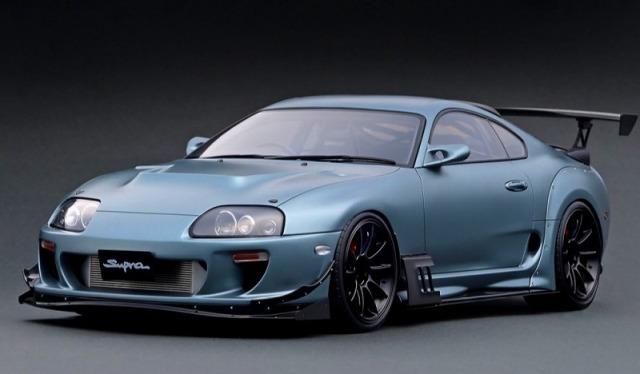 <予約> [Ignition model] 1/12 Toyota Supra (JZA80) RZ Matte Gray