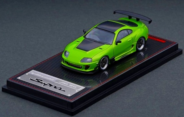 Ignition model 1/64 Toyota Supra JZA80 RZ Green Metallic 宮沢模型流通限定