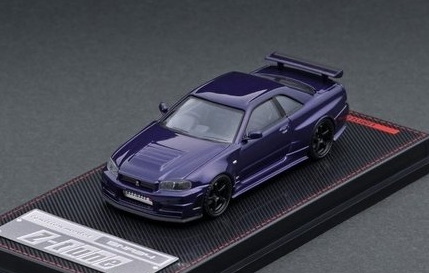 ignition 1/64 Nismo R34 GT-R Z-tune Purple Metallic