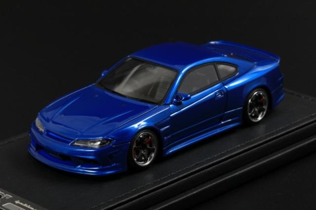 Ignition model 1/43 VERTEX S15 Silvia Blue Metallic