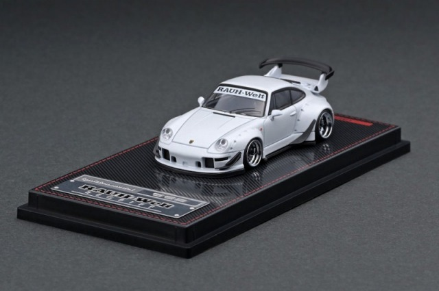 Ignition model 1/64 RWB 993 Matte Pearl White