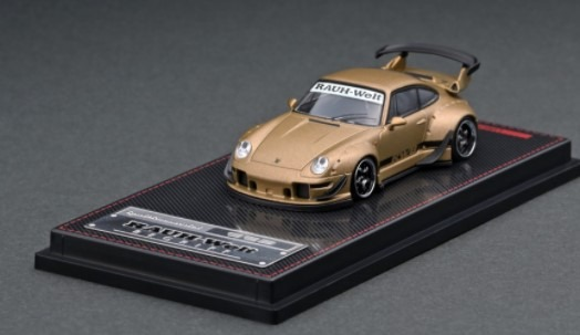 Ignition model 1/64 RWB 993 Matte Gold