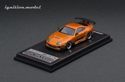 Ignition 1/64 Toyota Supra (JZA80) RZ Orange Metallic GReddy Ver.