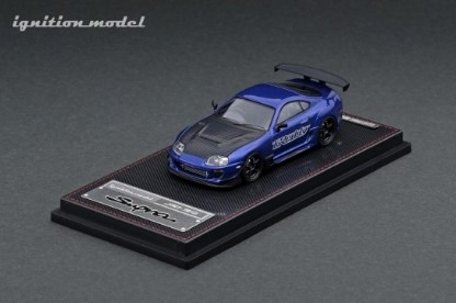 Ignition 1/64 Toyota Supra (JZA80) RZ Blue Metallic GReddy Ver.