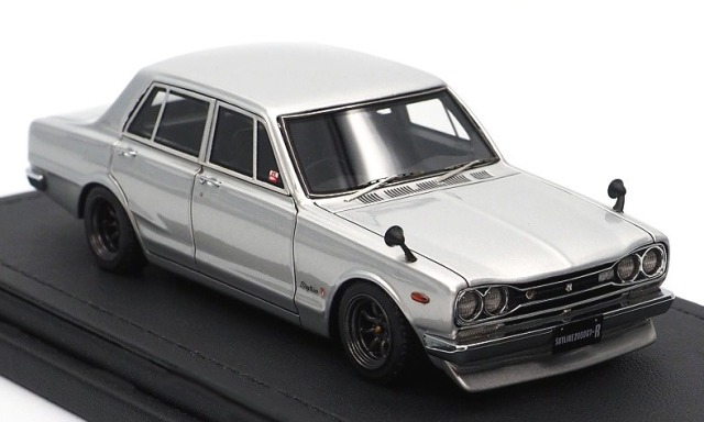 Ignition model 1/43 Nissan Skyline 2000 GT-R (PGC10) Silver