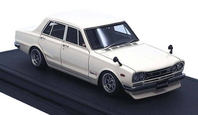Ignition model 1/43 Nissan Skyline 2000 GT-R (PGC10) White