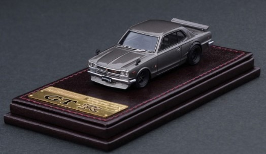 Ignition model 1/64 Nissan Skyline 2000 GT-R (KPGC10) Silver