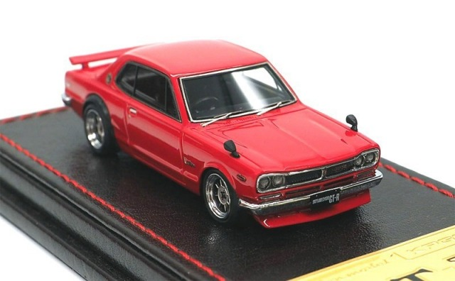 Ignition model 1/64 Nissan Skyline 2000 GT-R (KPGC10) Red