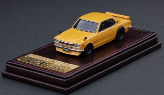 Ignition model 1/64 Nissan Skyline 2000 GT-R (KPGC10) Brown