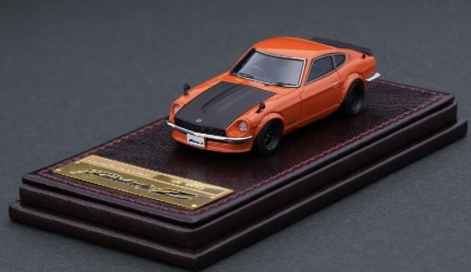 Ignition model 1/64 Nissan Fairlady Z (S30) Orange