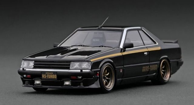 Ignition model 1/43 Nissan Skyline 2000 RS-Turbo (R30) Black