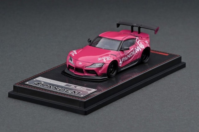 Ignition model 1/64 PANDEM Supra (A90) ピンク