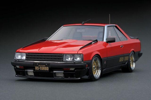 <予約 2022/5月発売予定> Ignition 1/18 Nissan Skyline 2000 RS-Turbo (R30) Red/Black