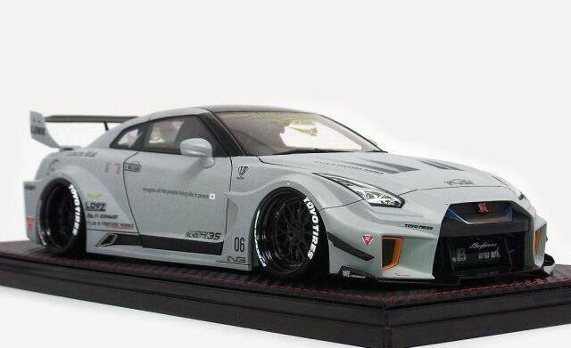 <予約 2022/4月発売予定> Ignition 1/18 LB-Silhouette WORKS GT Nissan 35GT-RR Matte Gray