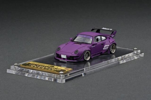 <予約 2021/7月発売予定> ignition model 1/64 RWB 993 Matte Purple