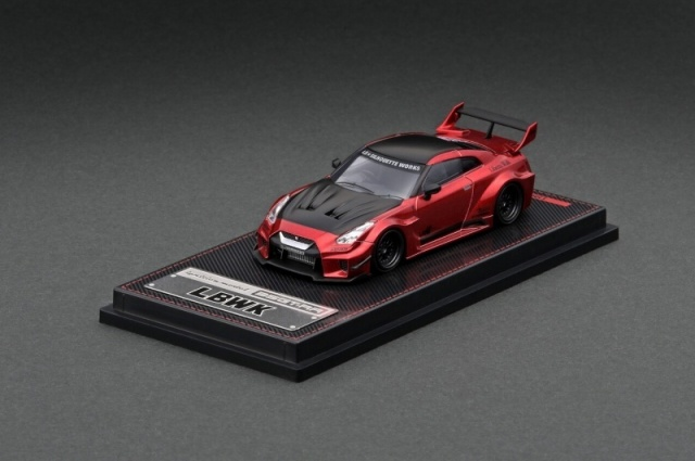 Ignition 1/64 LB-Silhouette WORKS 35GT-RR Red Metallic