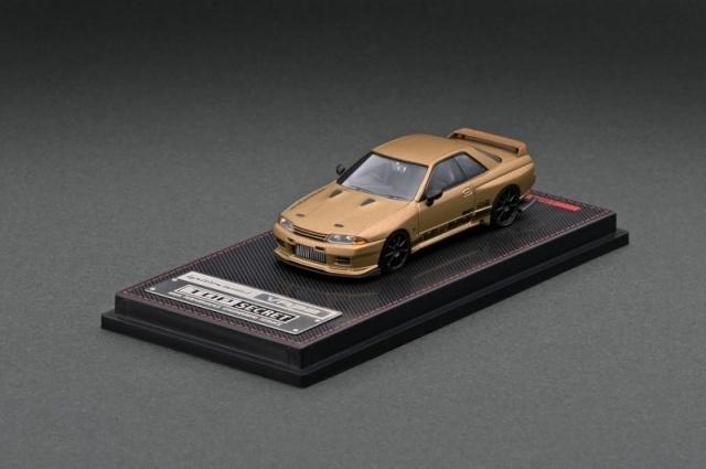 Ignition 1/64 TOP SECRET GT-R (VR32) Matte Gold