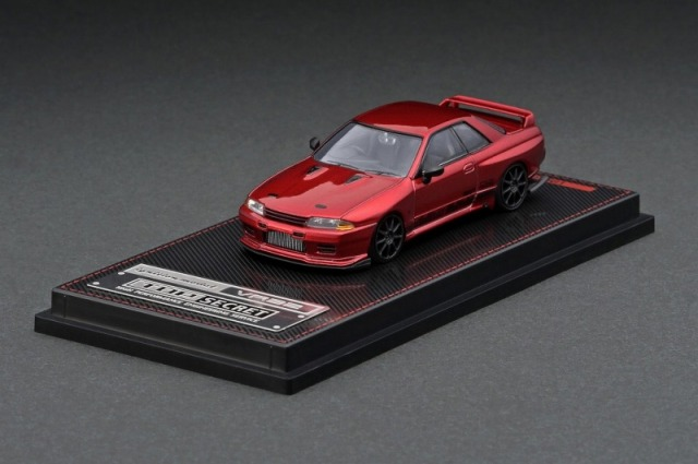 <予約 2021/8月発売予定> ignition model 1/64 TOP SECRET GT-R (VR32) Red Metallic