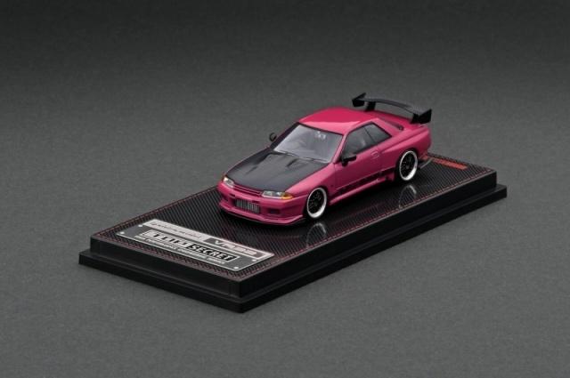 Ignition 1/64 TOP SECRET GT-R (VR32) Pink