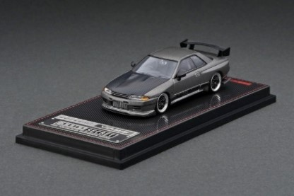 <予約 2021/8月発売予定> ignition model 1/64 TOP SECRET GT-R (VR32) Titanium Gray