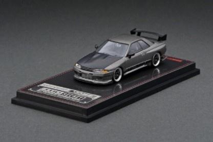 <予約 2021/8月発売予定> ignition model 1/64 TOP SECRET GT-R (VR32) Titanium Gray